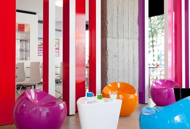 Pantone Hotel, Brussels  http://www.pantonehotel.com