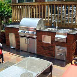 10 best images about viking outdoor kitchen on pinterest for Viking outdoor kitchen