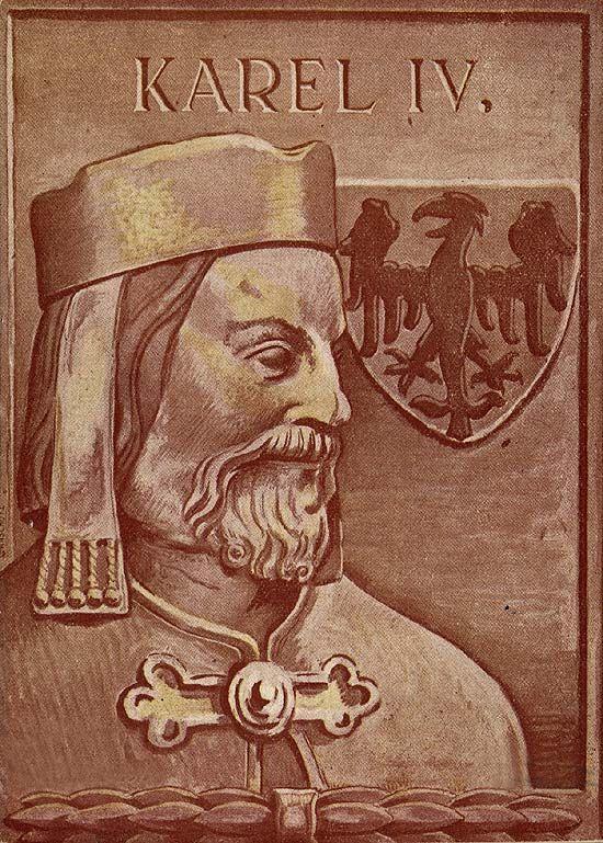 Karel IV - ilustrace