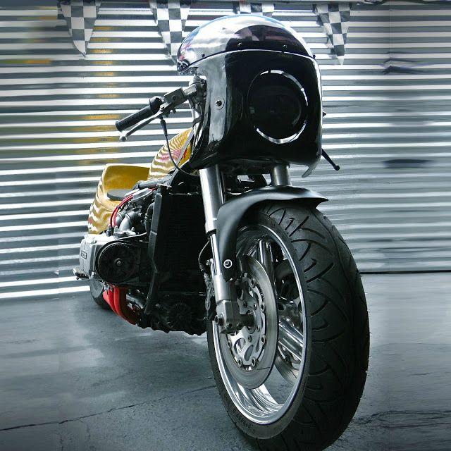 honda goldwing 1200 drag bike custom by whiskey priest. Black Bedroom Furniture Sets. Home Design Ideas