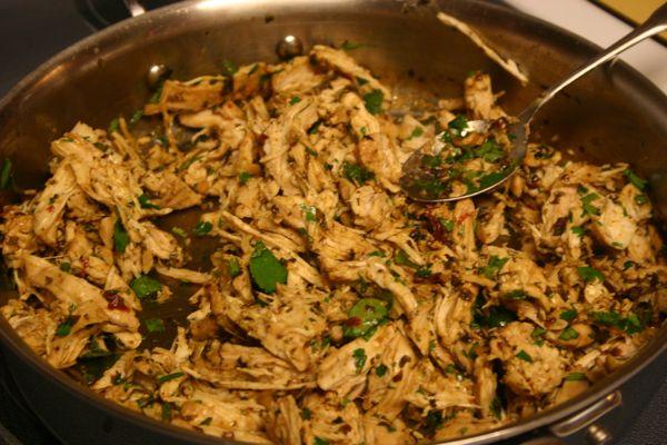 chicken taco filling | Bon Appetit | Pinterest