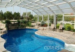 Pool Enclosures are a wonderful way to truly enjoy your pool. Our pool enclosures are specifically designed to add covering to a pool and outdoor deck area so the space can be enjoyed while staying clean from dirt, leaves, pollen, grass clippings and especially bugs! So, visit COVERS in Play store to pick from the extensive list of pool enclosures as per your choice and range - low pool enclosures, middle pool enclosures and high pool enclosures.