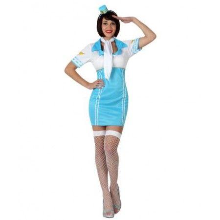 http://www.disfracessimon.com/disfraces-adultos/2340-disfraz-azafata-vuelo-p-2340.html Disfraz de azafata de vuelo