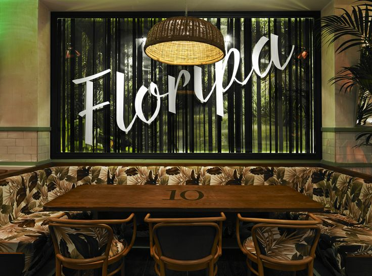 Floripa Bar & Restaurant by erul.design/Istanbul - Photography by Ali Bekman
