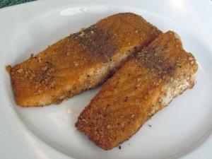 Caribbean Jerk Salmon...best salmon recipe I have tried!