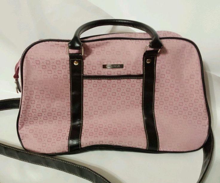 Protege luggage overnight bag Duffle pink black #Protege