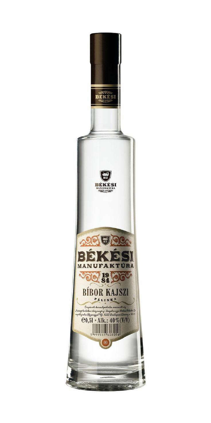 Békési Bíbor Kajszi Pálinka - #hungarian premium #peach #schnapps