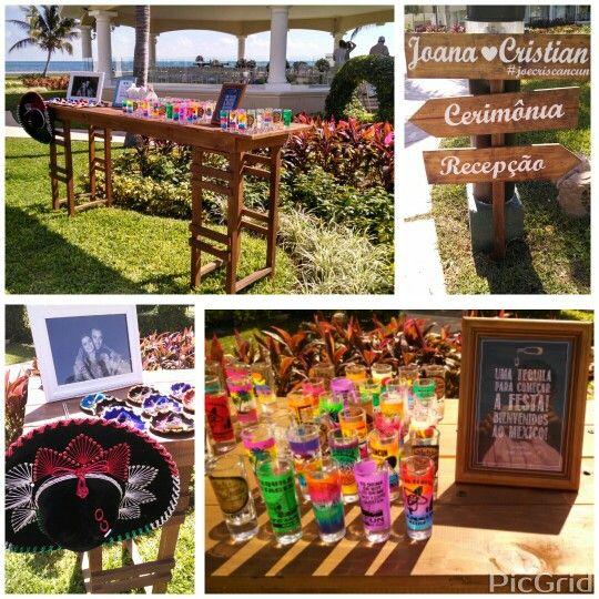 Ambientacion Coctel Mexicano #LoveMemories #Weddings