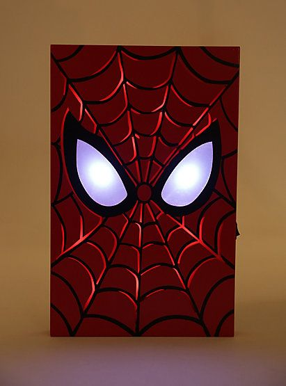 Marvel Ultimate Spider-Man Light-Up Wall ArtMarvel Ultimate Spider-Man Light-Up Wall Art,