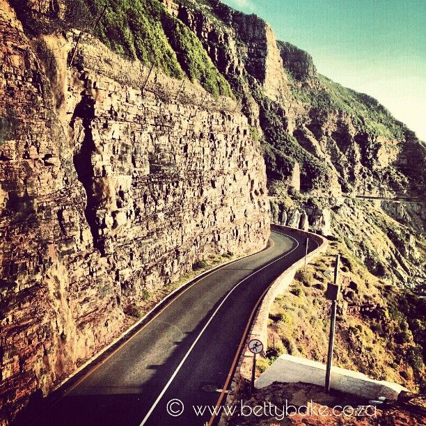 #ChapmansPeak drive, cape town in South Africa / #southafrica / Photo by bettybake http://instagram.com/bettybake/