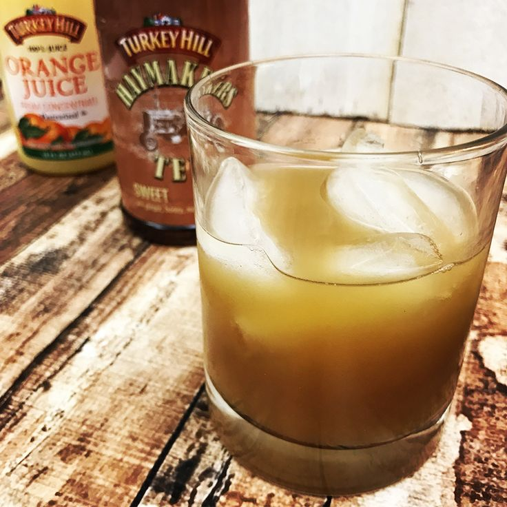 You've heard of the Boston Tea Party. Now there's a Boston Tea Hardy! Unlike the political uprising in 1773, this take on the historical event is a relaxing cocktail made with iced tea, orange juice, and rum.    BOSTON TEA HARDY      Ingredients:     • 1 oz. dark rum  • 3 oz. orange juice   • 3 oz. Turkey Hill Iced Tea or Haymakers Sweet Tea       Instructions:      Combine all ingredients, shake with ice, and strain over ice cubes into a highball glass.