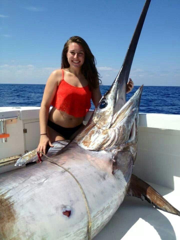 Florida swordfish caught 3/23/14