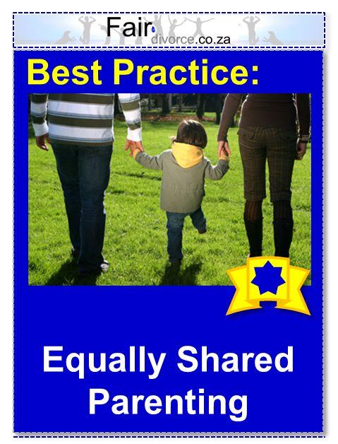 Equally Shared Parenting is Best for Children, Fair Divorce Best Practice, Divorce Mentor, Children's Rights, Children of Divorce, Shared Parenting, Equally Shared Parenting