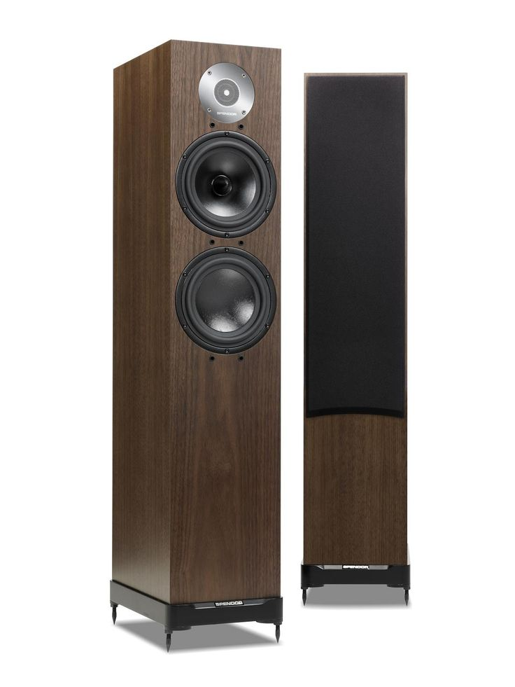 Spendor D7 - dark walnut . The Spendor LPZ tweeter is built around a stainless steel front plate that forms an acoustic chamber directly in front of the lightweight diaphragm. The phase correcting microfoil equalises sound wave path lengths whilst generating a symmettrical pressure environment so the tweeter operates in a balanced linear mode. The D7 mid-bass drive unit has an advanced EP77 polymer cone, whilst the low frequency drive unit uses a bonded Kevlar composite.