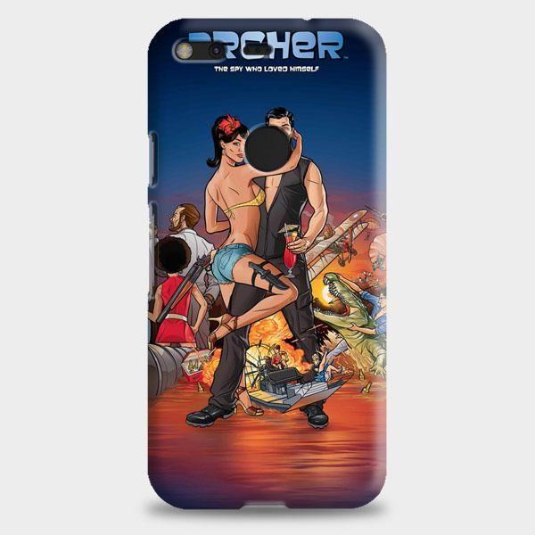 Archer Season 2 Google Pixel XL 2 Case | casescraft