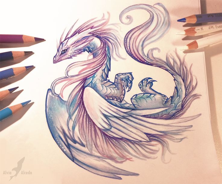 Air dragon by AlviaAlcedo.deviantart.com on @DeviantArt