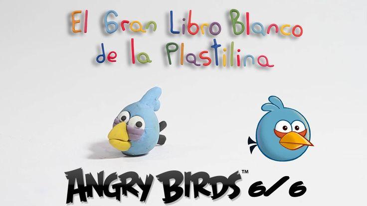 (6/6) Cómo hacer a Blue Bird de Angry Bidrs en plastilina / How to make ...