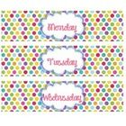 Here are drawer labels with each day of the week on them to coordinate with my Grade, Copy, File labels. All five days of the week are included as ...