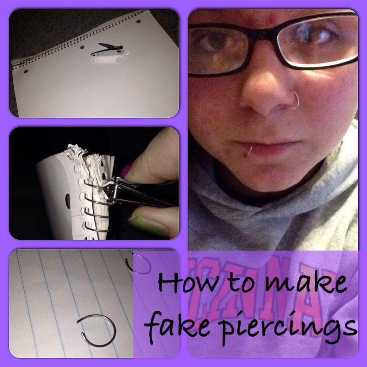 how to make fake stuff