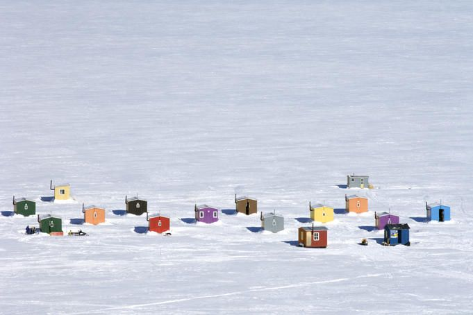 Canadian Ice huts