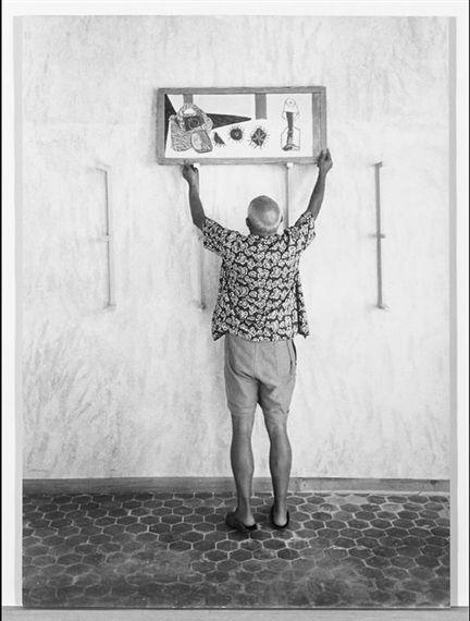 Picasso - Cornell Capa -  Fotógrafo estadounidense de procedencia húngara, miembro de la Agencia Magnum y hermano del también fotógrafo Robert Capa.
