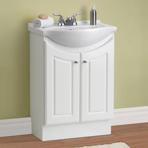 "$99 24"" Eurostone Collection Vanity Base At Menards"