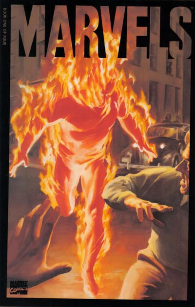 Marvels #1 cover by Alex Ross