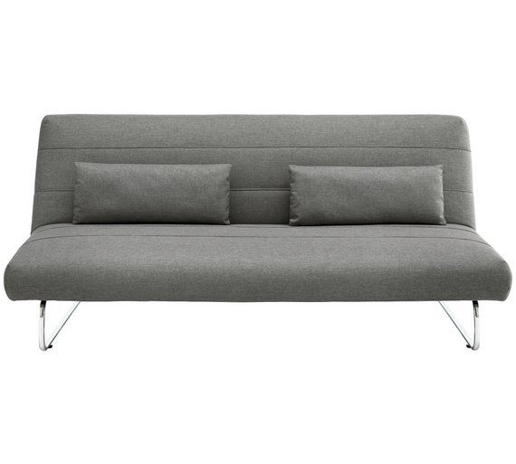 Buy Habitat Sibu 2 Seater Fabric Sofa Bed - Grey