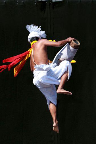 Manipuri dance performer