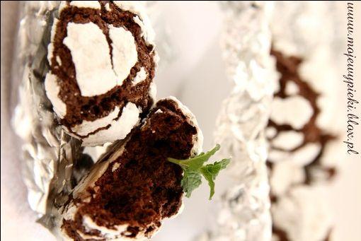 Moje Wypieki | Czekoladowe ciasteczka truflowe (chocolate truffle cookies)