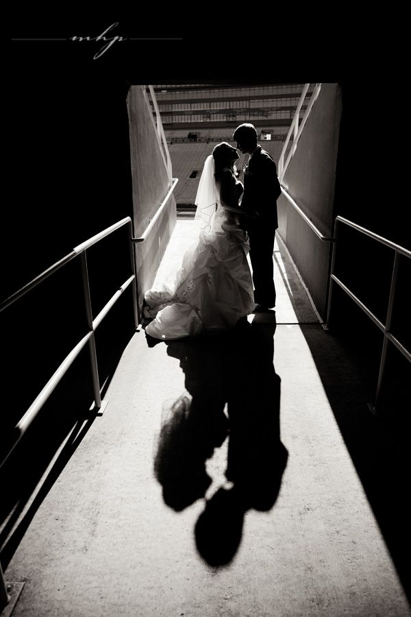 Lambeau Field Wedding in Green Bay, WI  http://markhawkinsphoto.com