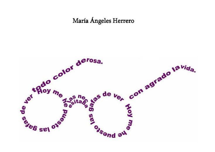 Poesía visual: Caligramas. « Arte Arnedo