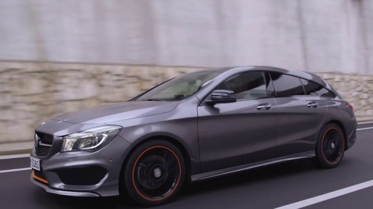2015 Mercedes Benz CLA 250 4MATIC Shooting Brake design driving