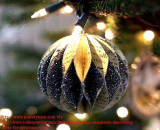 creatief besparen en meer: glitter kerstbal