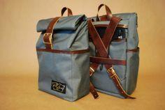 Motely Goods Pannier Backpack SF Handmade