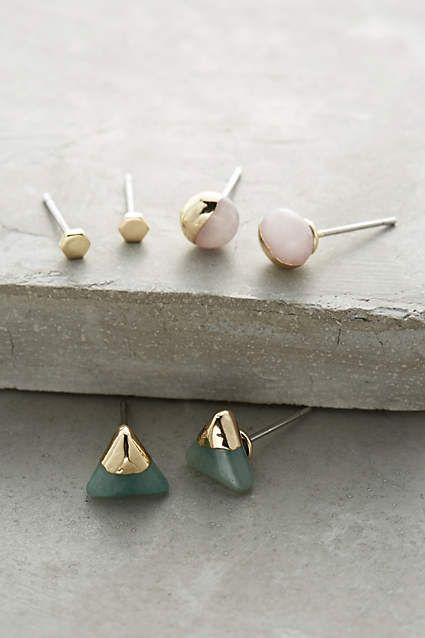 futurist earrings set