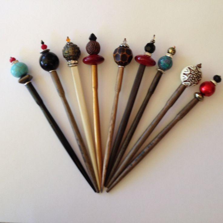 390 best Hair Sticks images on Pinterest   Chopstick hair ...