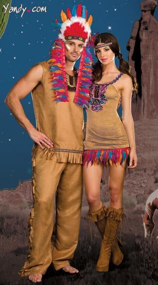 Tribal Vibe Couples Costume