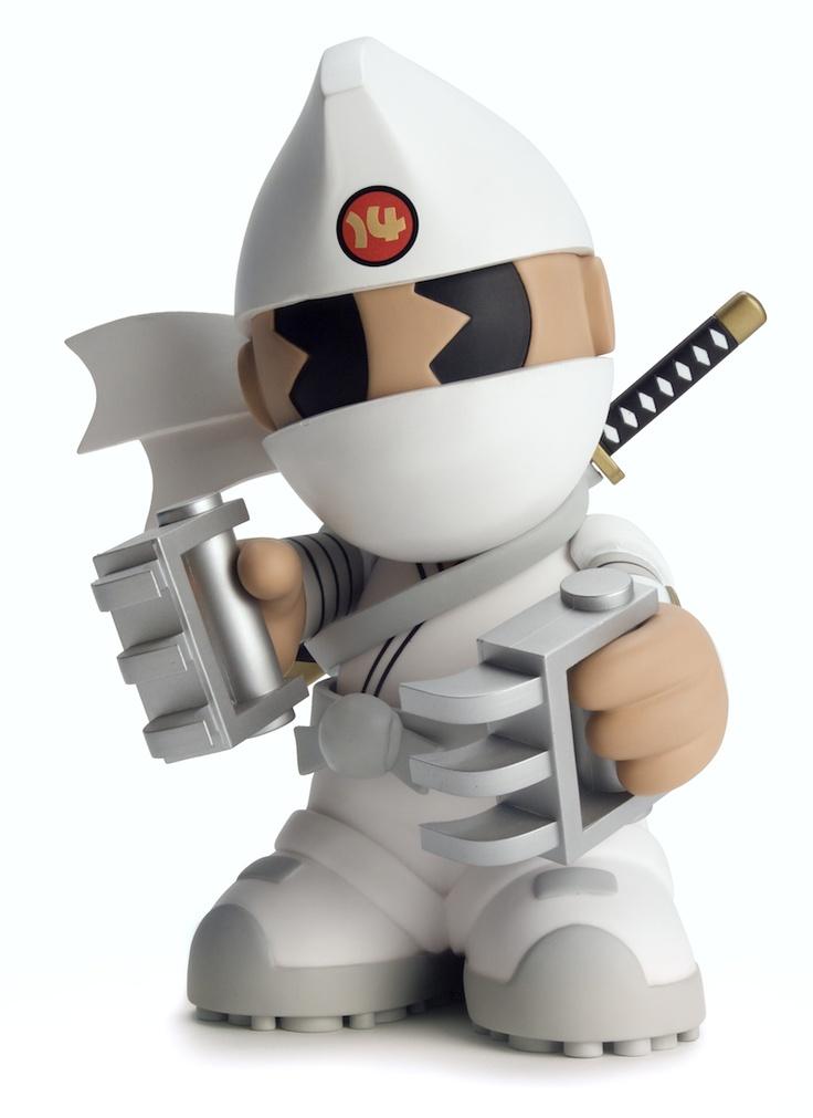 Kid Robot 14 Shiro Kidninja