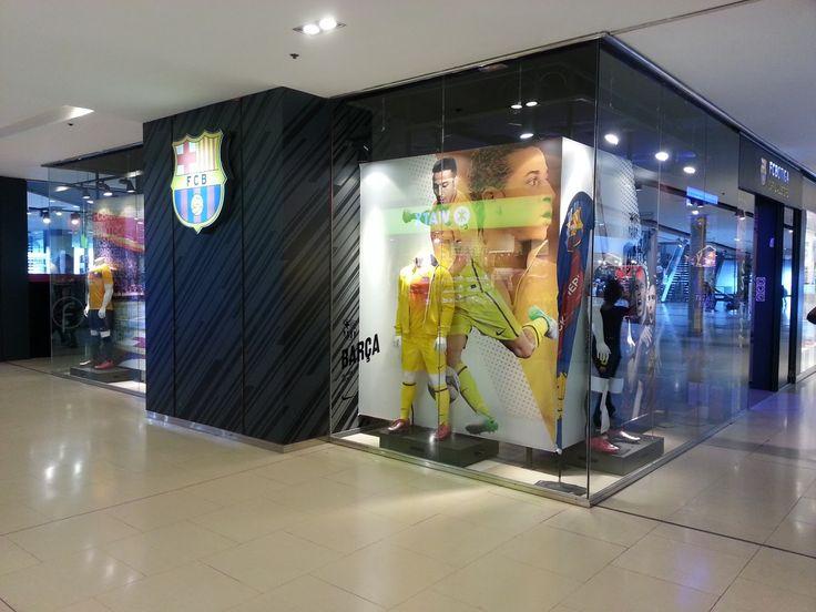 Official FC Barcelona Store at Maremagnum - Barcelona Sights Blog