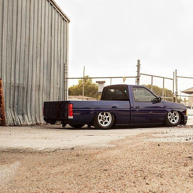 Who's down with mini trucks? #d21 #hardbody #nissan #slammed #stanced #jdm #truckin #carporn #jj #love #instagood #igers #igdaily #xsauto #bornauto #xenonsupply