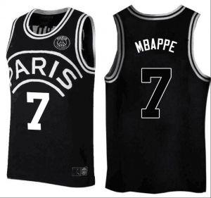 pretty nice ee892 0000a PSG 2018-19 Mbappe Top Jordan Basketball Jersey [M798 ...