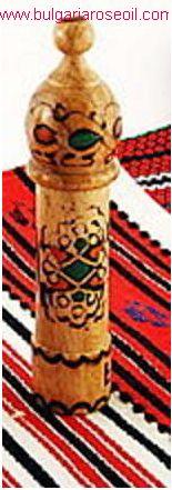 Bulgarian Rose Perfume Fragrance in Wooden Box Muskal 2.0m