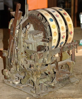Cool old slot machine