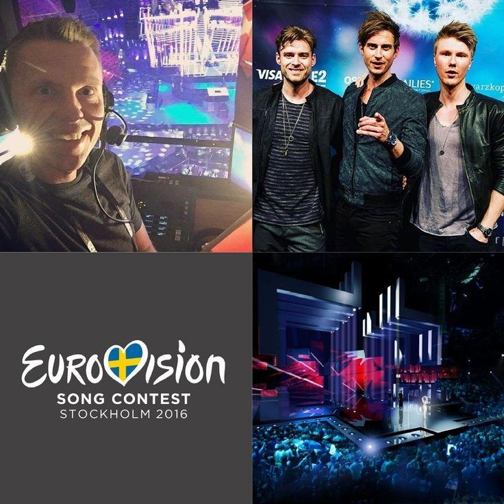 Om en halv time starter 1. semi-finale i @Eurovision Song Contest 2016  @OleTopholm er klar i boksen direkte fra @GlobeArenas i Stockholm når 18 sange skal blive til 10  @SørenBregendal @Joe_Ny og @Martin_Skriver er først med i 2. semi-finale. Rigtig god uge med @drgrandprix på @dr1tv. Alle dage fra klokken 21:00  Et lille tip: Undervejs er #DRgrandprix det sjoveste sted at være  #Eurovision #Eurovision2016 #LighthouseX #ESC #ComeTogether by kulturtossen