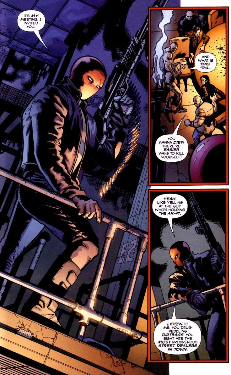 Batman Under The Hood Issue 01 page 17 online