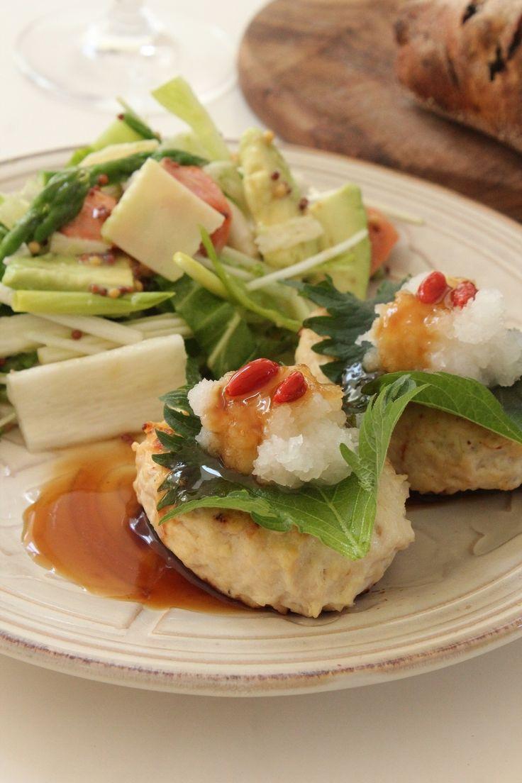 和風おろし豆腐ハンバーグ by 丹下慶子 | レシピサイト「Nadia | ナディア」プロの料理を無料で検索