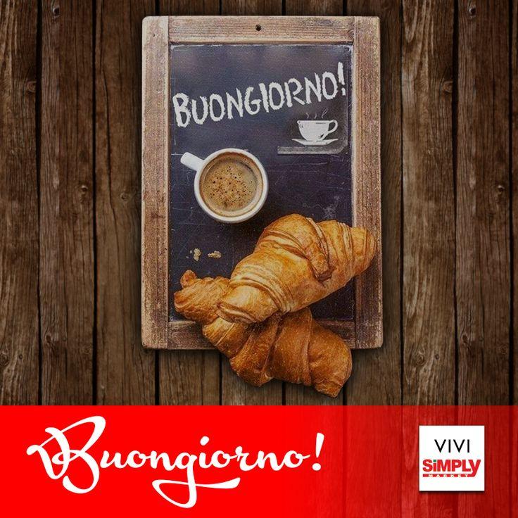 #Buongiorno #cornetti #cappuccino #Simply