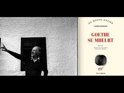 Thomas Bernhard : Goethe se mheurt (Bouffes du Nord)