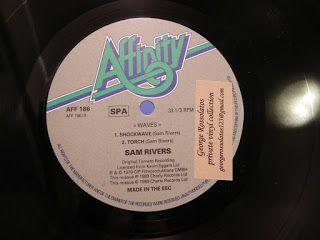 SAM RIVERS - WAVES (ORIGINAL PRESSING)